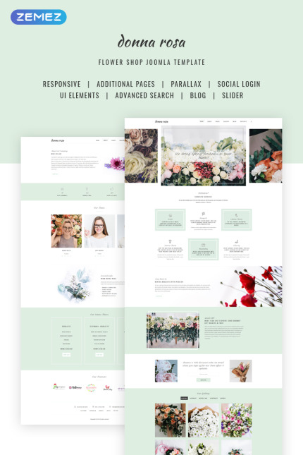St. Valentine website inspirations at your coffee break? Browse for more Vendors #templates! // Regular price: $75 // Sources available: #St. Valentine #Vendors