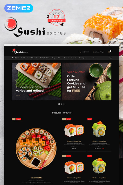 Cafe and Restaurant website inspirations at your coffee break? Browse for more Vendors #templates! // Regular price: $139 // Sources available: #Cafe and Restaurant #Vendors