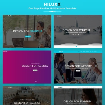 Landing Page Template # 70694