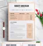 Template 70716 Resume Templates