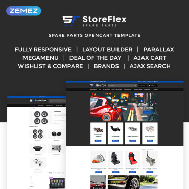 OpenCart Template # 70782