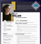 Template 70785 Resume Templates