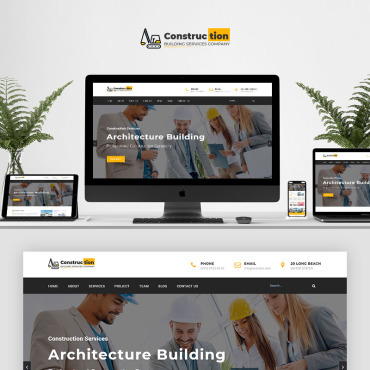 Landing Page Template # 70803