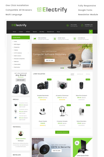 Electronics Most Popular website inspirations at your coffee break? Browse for more Vendors #templates! // Regular price: $69 // Sources available: #Electronics #Most Popular #Vendors