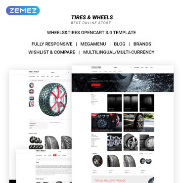 OpenCart Template # 71135