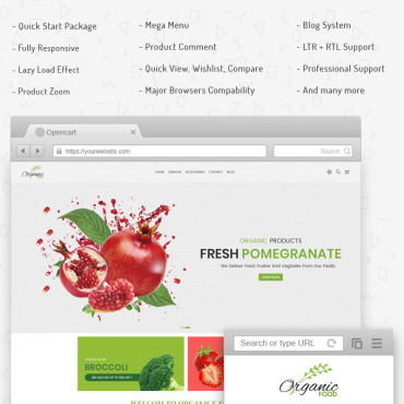 OpenCart Template # 71188