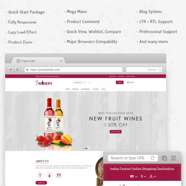 OpenCart Template # 71265