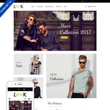 OpenCart Template # 71267
