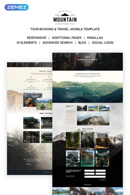 Travel website inspirations at your coffee break? Browse for more Vendors #templates! // Regular price: $75 // Sources available: #Travel #Vendors