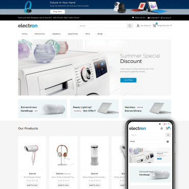 OpenCart Template # 71320