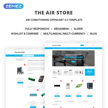 OpenCart Template # 71443
