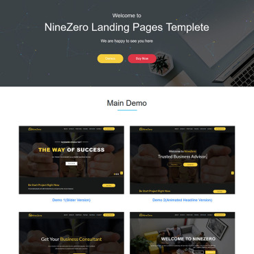 Landing Page Template # 71488