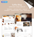 Coffee House Vendors Template