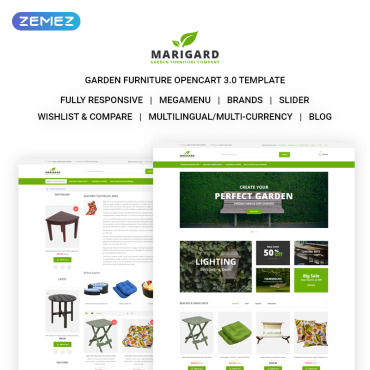 OpenCart Template # 71574