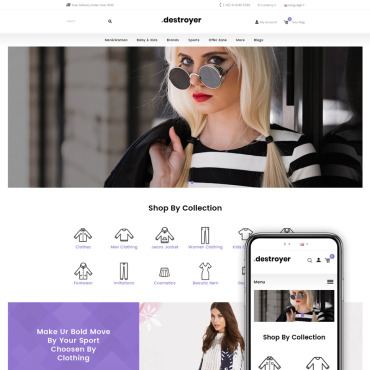 OpenCart Template # 71575