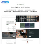 Coworking Space Vendors Template