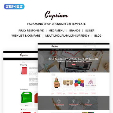 OpenCart Template # 71686