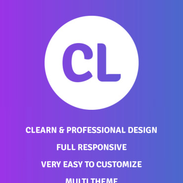 Landing Page Template # 71734