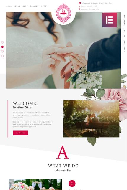 Wedding website inspirations at your coffee break? Browse for more Vendors #templates! // Regular price: $75 // Sources available: #Wedding #Vendors