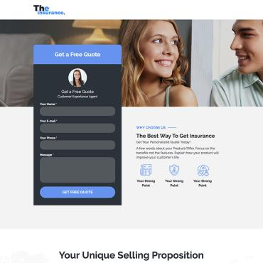 Unbounce Template # 71804
