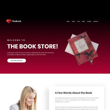 Landing Page Template # 71905
