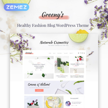 WordPress Theme # 71975