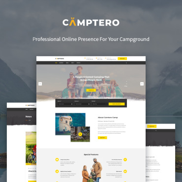 WordPress Theme # 71987