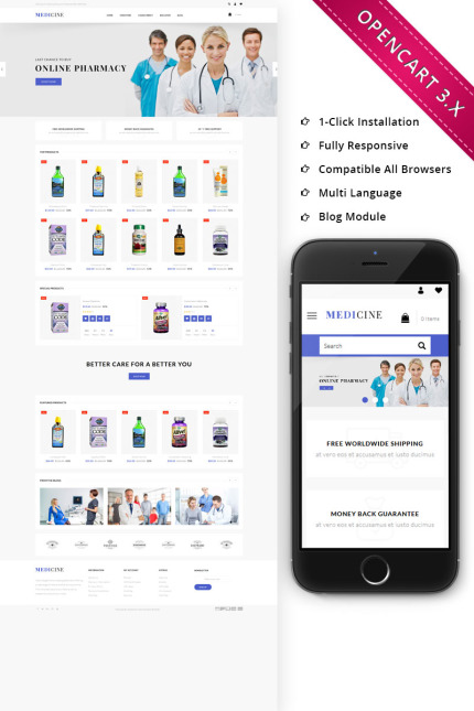 Medical website inspirations at your coffee break? Browse for more Vendors #templates! // Regular price: $80 // Sources available: #Medical #Vendors