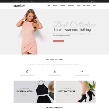 OpenCart Template # 73281
