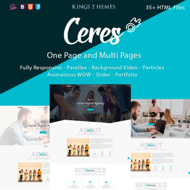 Landing Page Template # 73333