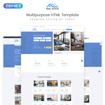 Website Template # 73337
