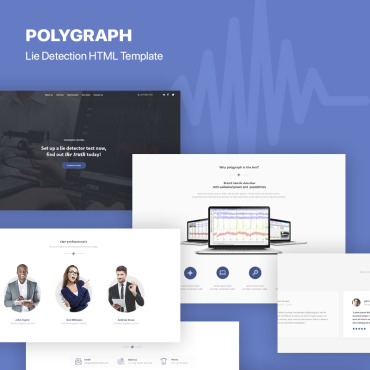 Landing Page Template # 73430