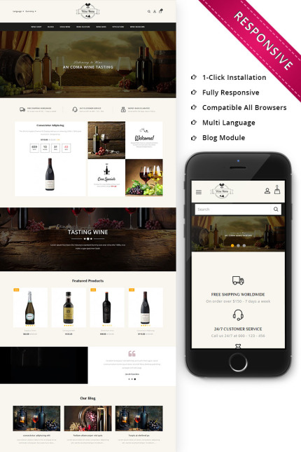 Cafe and Restaurant website inspirations at your coffee break? Browse for more Vendors #templates! // Regular price: $67 // Sources available: #Cafe and Restaurant #Vendors