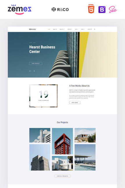 Architecture website inspirations at your coffee break? Browse for more Vendors #templates! // Regular price: $72 // Sources available: #Architecture #Vendors