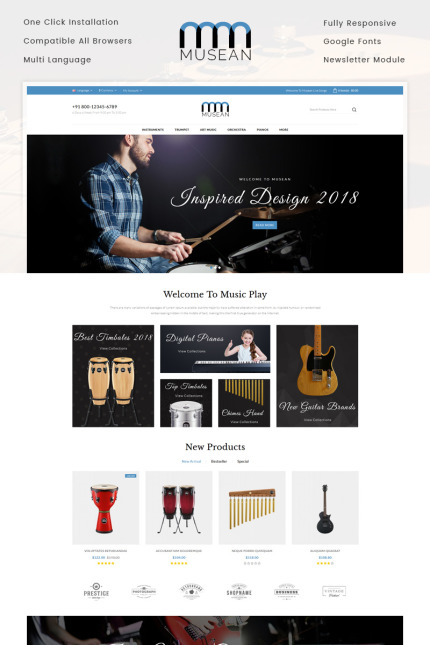 Art & Photography website inspirations at your coffee break? Browse for more Vendors #templates! // Regular price: $69 // Sources available: #Art & Photography #Vendors