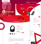 Template 73591 Landing Page Templates
