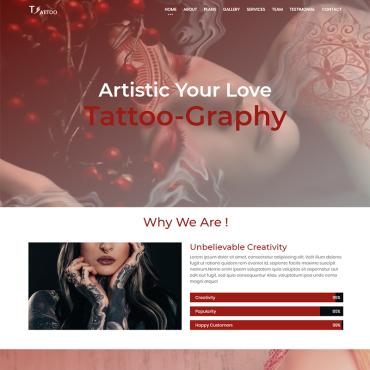 Landing Page Template # 73592