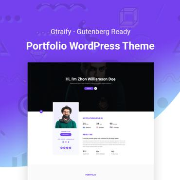WordPress Theme # 73646