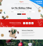 Gifts Landing Page Template