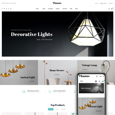 OpenCart Template # 73686