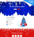 Gift Store Landing Page Template