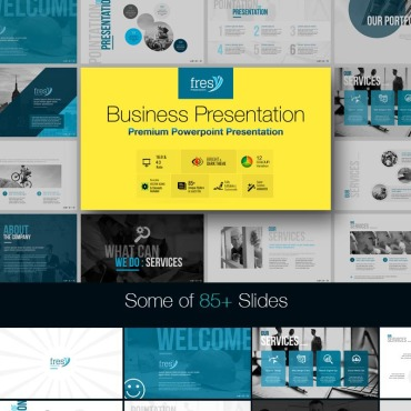 PowerPoint Template # 73787
