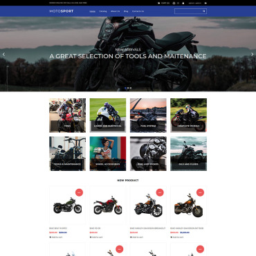 MotoCMS Ecommerce Template # 74114