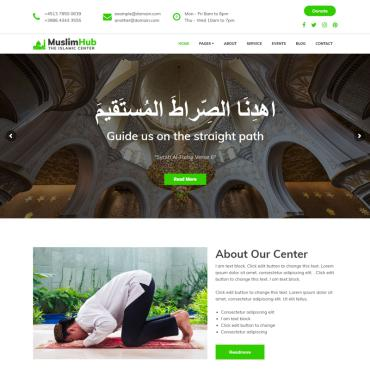 WordPress Theme # 74124