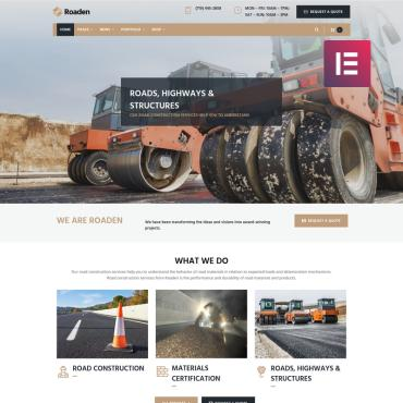 WordPress Theme # 74134