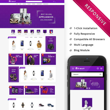 OpenCart Template # 74156