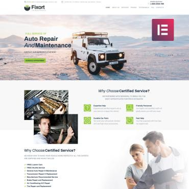 WordPress Theme # 74186