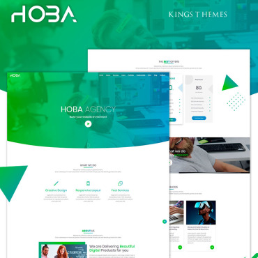 Landing Page Template # 74204