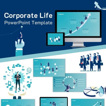 PowerPoint Template # 74241