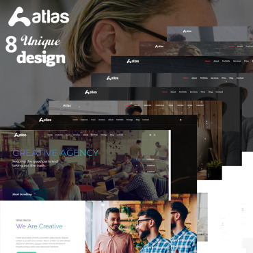 Landing Page Template # 74249